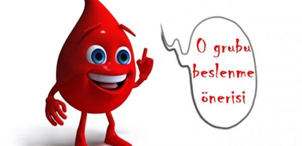 0 kan grubuna göre BESLENME Önerileri