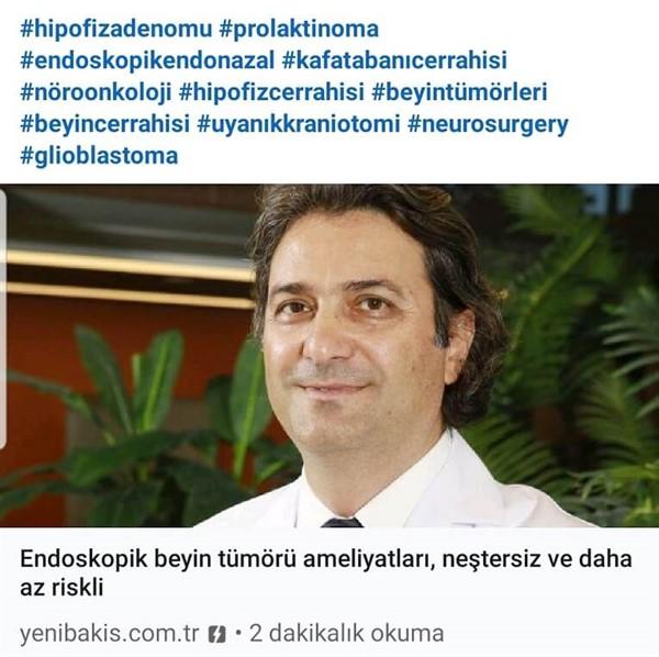 Endoskopik Endonasal Hipofiz Cerrahisi