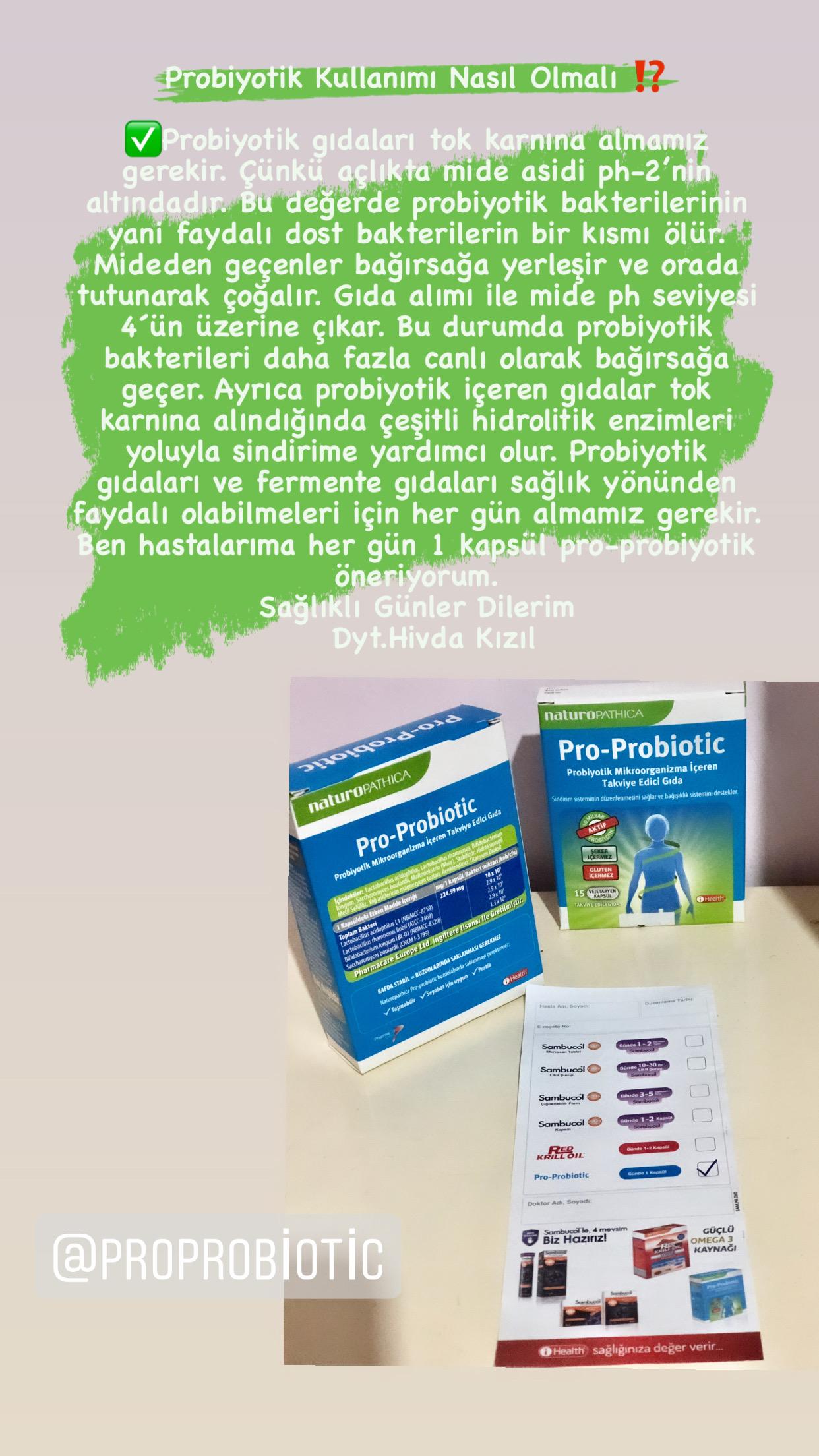 Probiyotik Kullanımı Nasıl Olmalı?