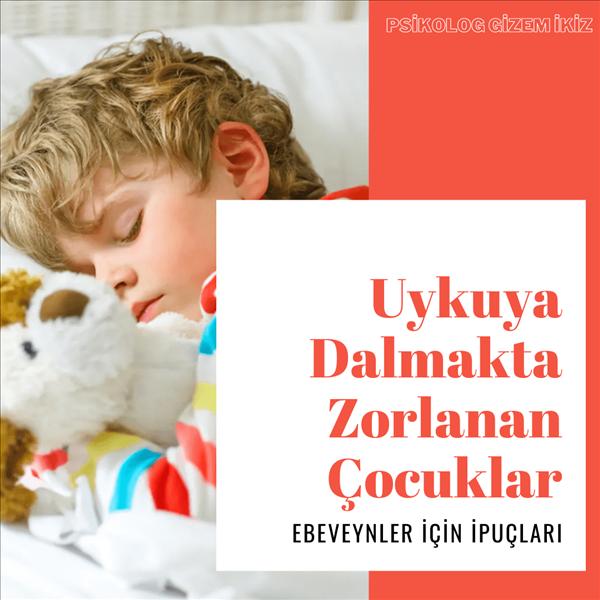 Uykuya Dalmakta Zorlanan Çocuklar İçin Ebeveynlere İpuçları